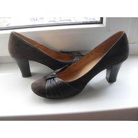 "Туфли ""CARNABY""(Chester) Англия. Натуральная замша + кожа. 37 размер (24 см)"