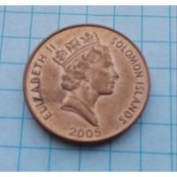 Соломоновые острова 2 цента 2005г.