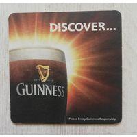 Бирдекель (подставка под пиво) Guinness