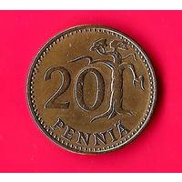 18-25 Финляндия, 20 пенни 1975 г.