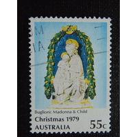 Австралия 1979 год. Рождество.