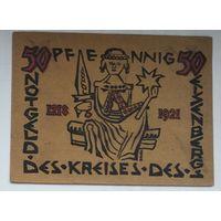 Германия, Нотгельд Kreises 50 Пфеннигов 1921--143