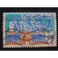 Тунис 1959 г. Искусство.