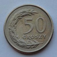 Польша 50 грошей. 1992