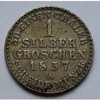 Германия-Пруссия 1 пфенниг, 1857 г.