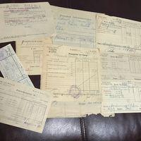Документы 1929-1939г цена за все.