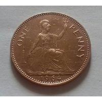 1 пенни, Великобритания 1964 г.