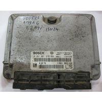 100522 Компьютер (ЭБУ) Opel Astra G 1,7dti 0281001670 90589736 LS