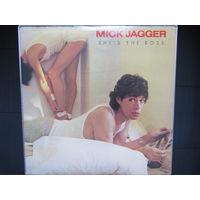 Mick Jagger - She's The Boss 85 Columbia USA NM/NM-