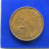 Норвегия 50 эре 2004