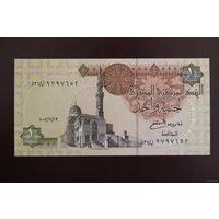 Египет 1 фунт 2003 UNC