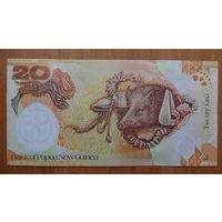 20 кина Папуа-Новая Гвинея, 2008 год