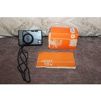 Фотоаппарат АГАТ 18К, 1990 года, не работает затвор.
