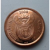 5 центов 2009 года Южная Африка  - из коллекции
