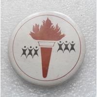 Значок. Олимпийский Факел #0257