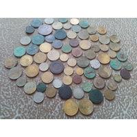 Царские и советские монеты одним лотом
