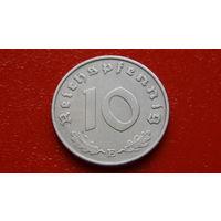 10 Рейхспфеннигов -1941-Е- ГЕРМАНИЯ - III Рейх - *цинк -отличное состояние-