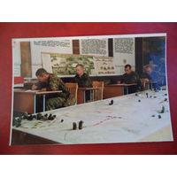 Фото из 90-х. Занятия с сержантским составом. ВС РБ.