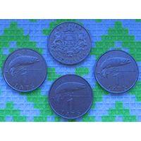 Латвия 1 лат. Инвестируй в монеты планеты!