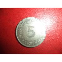 5 марок 1982 j ФРГ