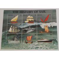 Гренада, флот, корабли, парусники, история, распродажа