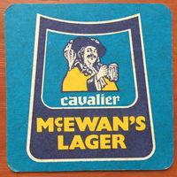 Подставка под пиво McEwan`s
