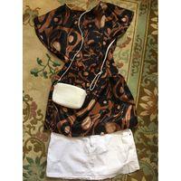 Блуза туника 46 красивая