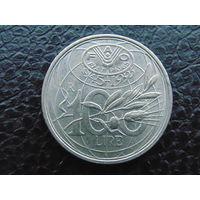 Италия 100 лир 1995г.