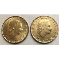 200 лир 1993 Италия