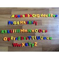 Английский алфавит Буквы на магнитах 73 шт Германия