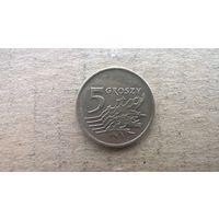 Польша 5 грошей, 1992г. (D-4)