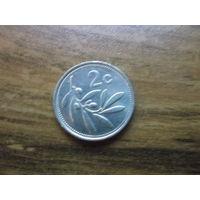 Мальта 2 цента 1991