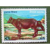 Непал 1973г. Фауна.