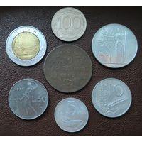 СНИЖЕНИЕ ЦЕНЫ!!! Лот из 7-ми монет Италии