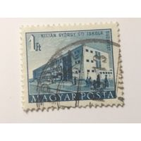 Венгрия 1951. Здания. Архитектура.