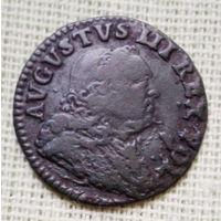 Грош Августа 1752г.