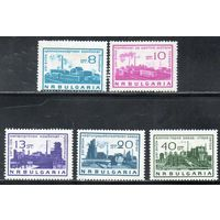 Стандартный выпуск. Социалистические стройки Болгария 1964 год серия из 5 марок (М)