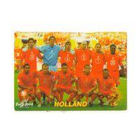 Футбольная карточка Сборная Голландии