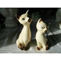 Статуэтка кошка Германия фарфор цена за 2