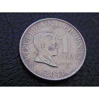 Филиппины 1 песо 2011 г.