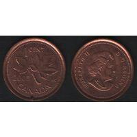 Канада _km490 1 цент 2005 год km490 не магнит (f32)*