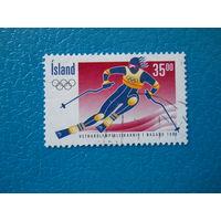Исландия. 1998 г. Мi-883. Олимпийские игры. Нагано.