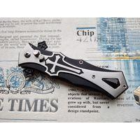 """Красивый раскладной ножик """"Templier"""", кнопочный."""