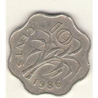 10 центов 1986 г.