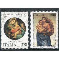 Италия. Рождество 1983