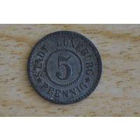 Люнебург 5 пфеннигов 1920