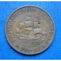 Южная Африка Британский доминион 1 пенни 1930 Георг V