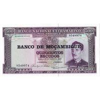 Мозамбик, 500 эскудо, 1967 г., UNC