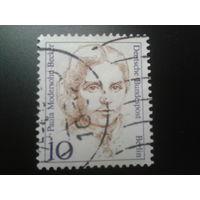 Берлин 1988 Стандарт, художница Михель-2,0 евро гаш.
