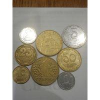 Коллекция монет Украины в сохране